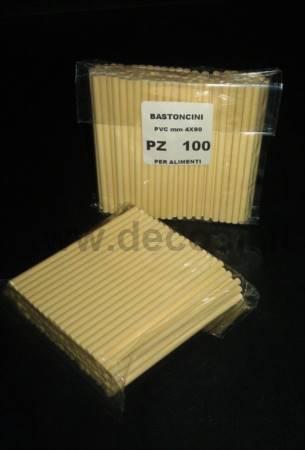 PALITOS de piruletas en PVC
