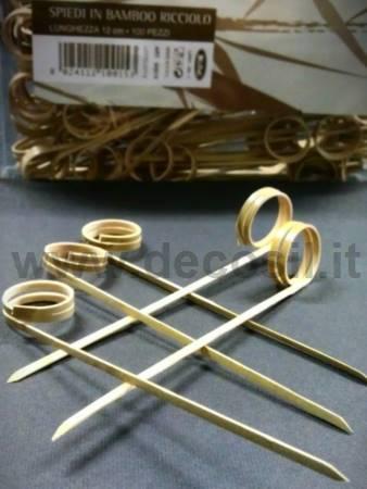 Palitos Rizos Bambú para decoStick